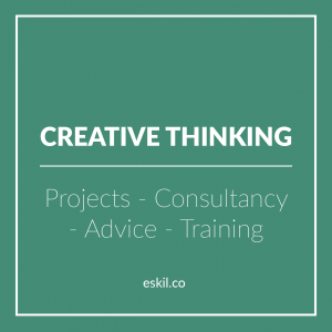 Eskil is an international boardroom development company and one of its areas of excellence is in creating thinking and generating ideas - working with the boardroom as well as teams further down in the structure as we future-proof your organization